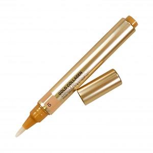 Кремовый консилер-кисть  Gold Collagen Ampoule Concealer SPF25+/PA++  The Face Shop