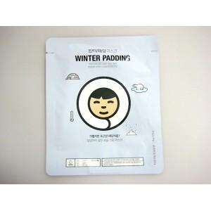 Маска-салфетка  Winter Padding Moisturizing Cream Face Mask  The Face Shop