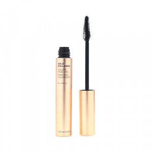 Тушь для ресниц объем Gold Collagen Volume Mascara The Face Shop