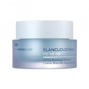 Крем для лица отбеливающий увлажняющий Blanclouding White Moisture Cream The Face Shop