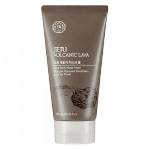 Пена-маска для умывания Jeju Volcanic Lava Pore Daily Mask Foam The Face Shop