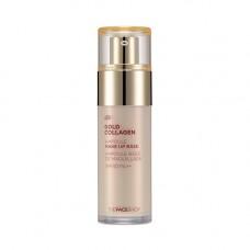 Основа под макияж с коллагеном Gold Collagen Ampoule Make-Up Base TheFaceShop
