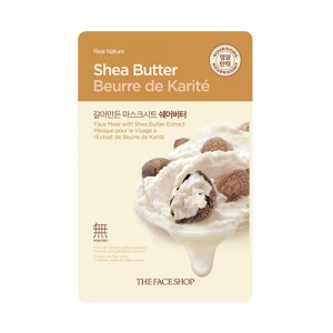 Маска для лица Real Nature Mask Shea Butter TheFaceShop