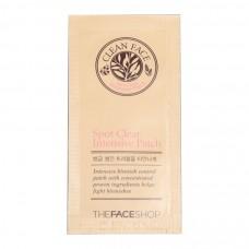 Интенсивные пластыри для лечения воспаления кожи лица Spot Clear Intensive Patch TheFaceShop